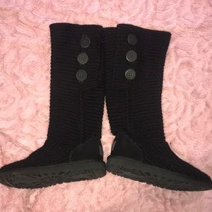 UGG Shoes - UGG Black Sweater Boots